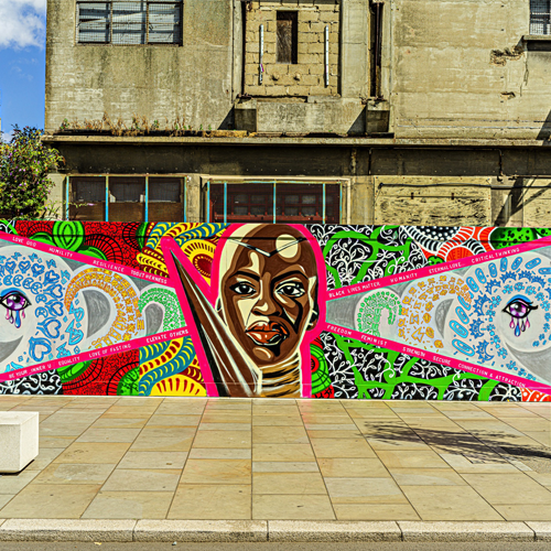Youth Mural by Art Eat Events on Ipswich Waterfront