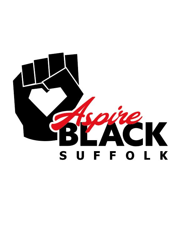 Aspire Black Suffolk logo